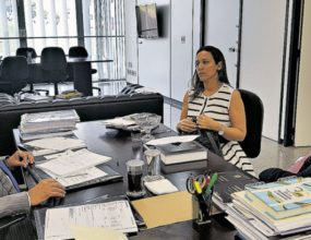 Prefeitos pedem apoio ao senador Jader Barbalho em Brasília