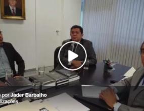 Evaldo Cunha, que foi prefeito de Ipixuna do Pará, também esteve no meu gabinete em Brasília nesta quarta