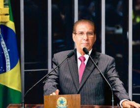 Jader Barbalho (MDB) tomou posse para seu 3º mandato no Senado Federal
