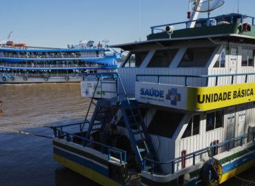 UBSs Fluviais adquiridas com emendas do senador Jader começam a chegar ao Pará