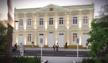 Palacete Augusto Corrêa: Jader anuncia liberação de 740 mil para reconstrução em Bragança
