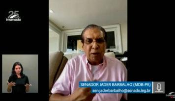 Jader cobra explicações sobre vacinas para o Pará